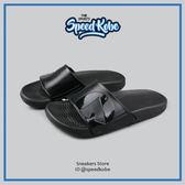 AIRWALK 拖鞋 大LOGO 防水 全黑 男女 A511220-222【SP】