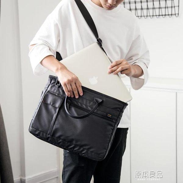 14/15.6英寸男女防震單肩斜背手提筆記本電腦包YYJ    原本良品