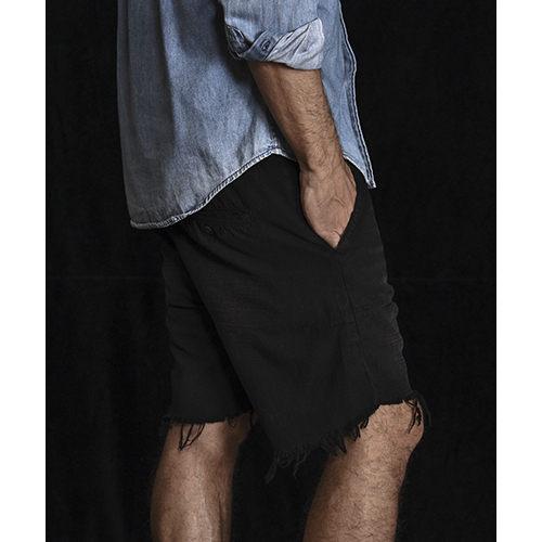 OneTeaspoon 牛仔短褲 破褲 MR PINKS - 男(黑)