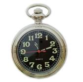 懷錶 時尚復古學生考試夜光阿拉伯字掛表羅馬字男老人女表石英懷表手表【快速出貨八折下殺】