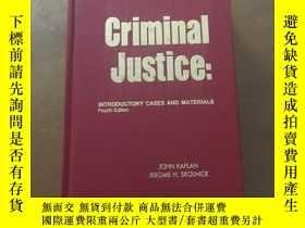 二手書博民逛書店CRIMINAL罕見JUSTICE INTRODUCTORY C