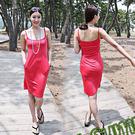 桃紅性感連身裙 罩衫 搭比基尼泳裝更性感 橘魔法magic G 現貨