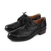 HUMAN PEACE 休閒皮鞋 牛皮 低跟 黑色 女鞋 8271 no385