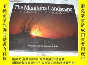二手書博民逛書店The罕見Manitoba Landscape : A Visu