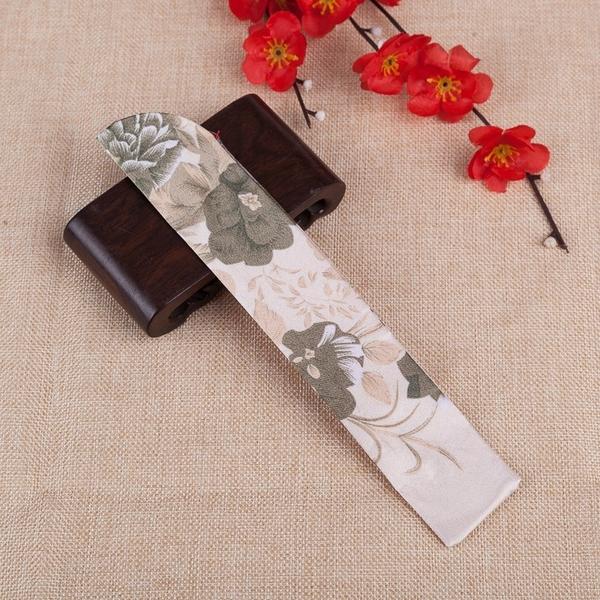 台灣現貨天天寄【粉紅菲菲】扇袋精美雙層女扇扇套綢布扇袋布扇子專用布袋7425-46 35-0046