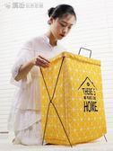 可摺疊布藝臟衣簍北歐收納桶洗衣籃臟衣籃袋大框臟衣服收納筐YXS 「繽紛創意家居」