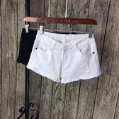 牛仔短褲 低腰彈力破洞牛大碼顯瘦修身百搭熱褲