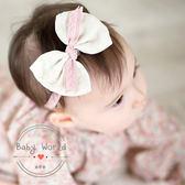 髮帶 蝴蝶結 兒童 髮飾 造型 嬰兒 頭花 韓版 BW
