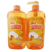 鷹王 柑橘洗碗精1000g+1000g【愛買】