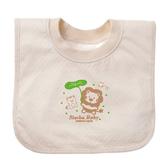 【奇買親子購物網】小獅王辛巴simba有機棉套頭圍兜