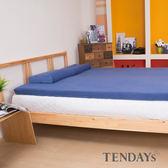 床墊-TENDAYs 5尺標準雙人5.5cm厚-DS柔眠記憶床墊(冰湖藍)網路限定款