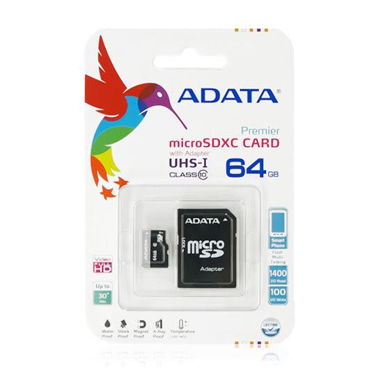 神腦/聯強 終身保固 64G SDXC UHS-I/CLASS 10/C10 記憶卡/Transcend 創見/威剛 /TF/Micro SD