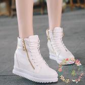 增高鞋 - 內增高女繫帶鞋