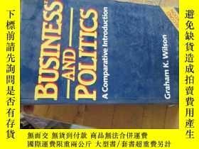 二手書博民逛書店B0078business罕見and politics(a co