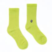 H2O LAB 純色系列 素面 萊姆綠 基本款 中高筒襪 男女 19SS02GN