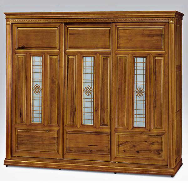 悍馬樟木色8尺衣櫥(18SP/022-2)【DD House】