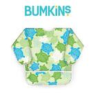 美國Bumkins 大童長袖防水圍兜 -小烏龜 BKAS-913
