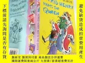 二手書博民逛書店Horrid罕見Henry Meets the Queen可怕的 亨利遇見了女王 。Y200392