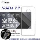 【愛瘋潮】諾基亞 Nokia 7.2 高透空壓殼 防摔殼 氣墊殼 軟殼 手機殼