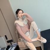 毛衣外套女外穿秋冬裝寬鬆2019針織衫開衫新款韓版法式慵懶風百搭