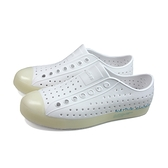native JEFFERSON PRINT 懶人鞋 洞洞鞋 白色 男女鞋 11100101-1968 no979