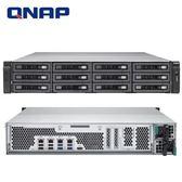QNAP 威聯通 TS-EC1280U-E3-4GE-R2 12Bay NAS 網路儲存伺服器
