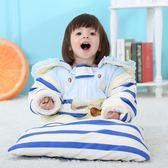 兒童睡袋 嬰兒睡袋春秋冬款加厚寶寶睡袋冬季新生兒童防踢被抱被可拆袖 好康免運