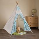 野餐帳篷 遊戲屋【收納屋】小雲朵四杆帳篷&DIY組合傢俱