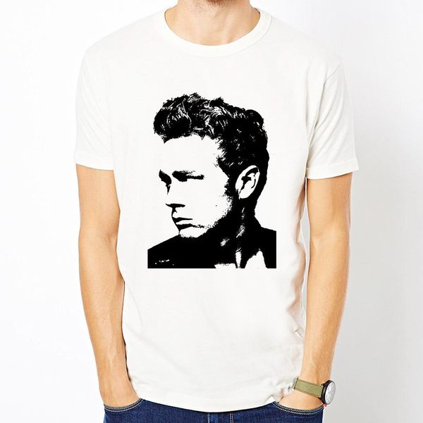 James Dean-Head短袖T恤-2色 詹姆士狄恩人物相片電影潮流趣味藝術 390