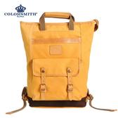 【COLORSMITH】MO・手提可收納後背兩用包・MO1389-YC