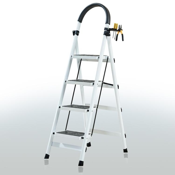 降價兩天 家用折疊梯子室內人字梯四步梯五步梯爬梯加厚多功能扶梯伸縮梯子