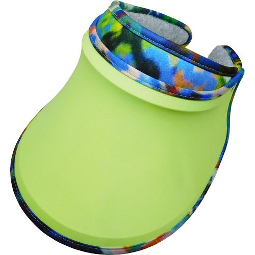 SUNSOUL/HOII/后益---新光感(防曬光能布)---伸縮彩帽 UPF50+ 黃光(脈衝光防曬遮陽帽)