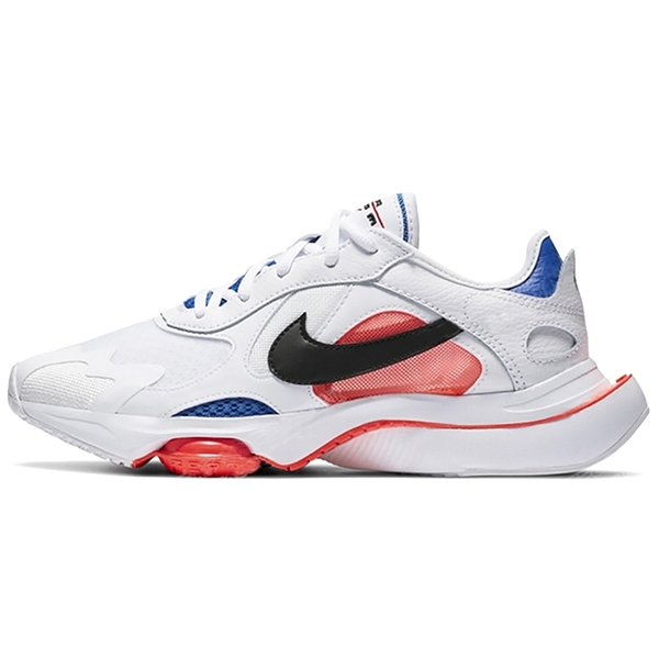 【現貨】NIKE AIR ZOOM DIVISION 男鞋 慢跑 休閒 氣墊 平民版Sacai 白 紅 藍【運動世界】CK2946-100