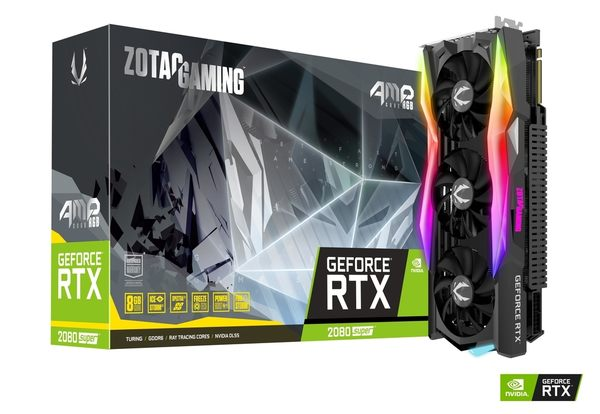 ZOTAC GAMING GeForce RTX 2080 SUPER AMP CORE RGB【刷卡分期價】