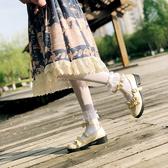 梅露露lolita鞋子原創正品日系洛麗塔中跟jk女軟妹淺口蘿莉小皮鞋 瑪麗蘇