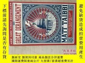 二手書博民逛書店THE罕見GREAT DERANGEMENT(32開平裝本,原版