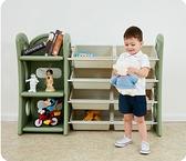 兒童玩具收納架寶寶分類整理櫃書櫃整理架大容量超大置物架多層CY 「時尚彩紅屋」