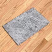 吸水腳墊 大理石紋 地毯 門墊 腳墊 地墊 防滑墊 灰色大理石紋地墊 ◄ 生活家精品 ►【V66】