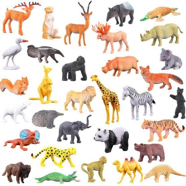 軟膠兒童仿真動物世界恐龍玩具套裝模型老虎獅男孩女孩禮物3-6歲   任選1件享8折