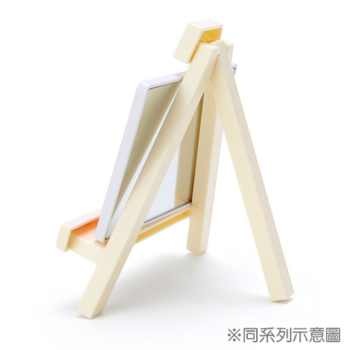 SANRIO 迷你三角書架造型桌上立鏡 桌鏡 手機架 美樂蒂_833614N