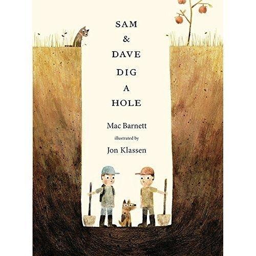 Sam And Dave Dig A Hole 一直一直往下挖 精裝繪本