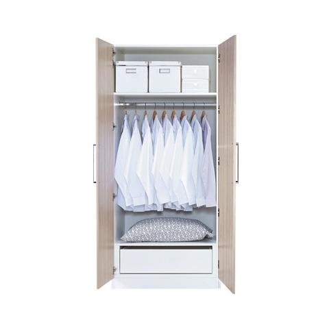 艾美爾系統床組系列 / 開門衣櫃 / 2.8尺 單吊衣櫃 【HG】
