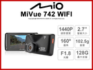 Mio MiVue742 WIFI 14...
