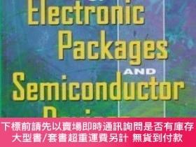 二手書博民逛書店Reliability罕見Of Electronic Packages And Semiconductor Dev