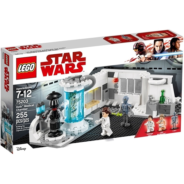 75203【LEGO 樂高積木】星際大戰 霍斯星醫療室場景組 Hoth Medical Chamber