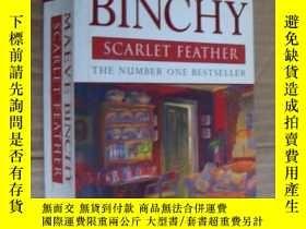 二手書博民逛書店Scarlet罕見Feather 英文原版 厚本Y146810