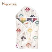Hoppetta 日本 蘑菇六層紗方型包巾