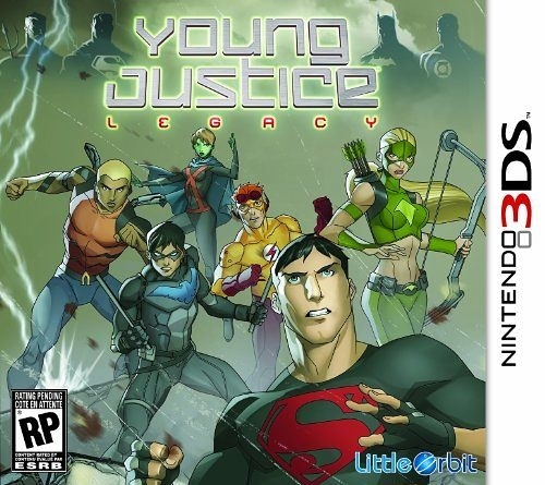 3DS Young Justice: Legacy 少年正義聯盟 : 遺產(美版代購)