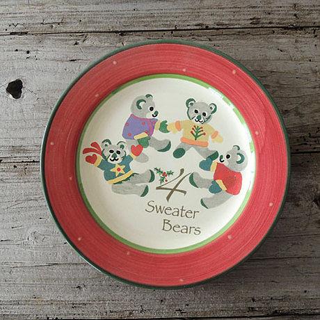 手繪陶瓷|8.9寸平盤|