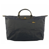 【LONGCHAMP】 L號短把LE PLIAGE CLUB折疊旅行包(槍銅色) L1624 619 300